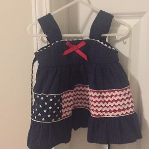 Adorable 4th of July dress